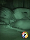 Watch as a very naked Carmen and Ashlee make out in the dark thanks to the night vision setting on the HD Camera