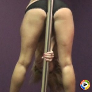 Watch as Savannah dances on the stripper pole