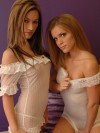 Karen & Kate in White Lace