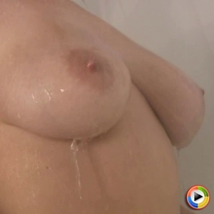 Watch as busty blonde babe Ami Jordan shows her perfect tits in the shower getting nice and wet