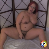 Horny pregnant Georgia Peach fucks her wet pussy hard with her new toy